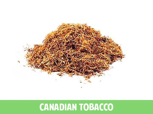 Canadian Tobacco flavored eliquid