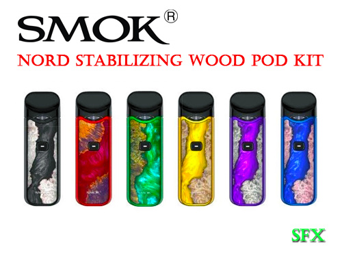 SMOK Nord Stabilizing Wood edition pod kit